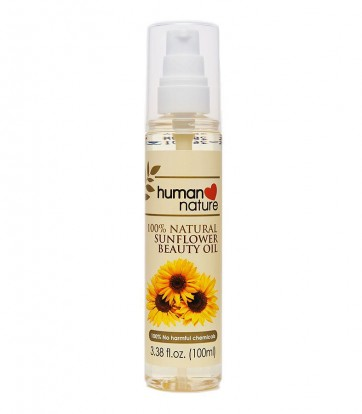 human nature sunflower oil